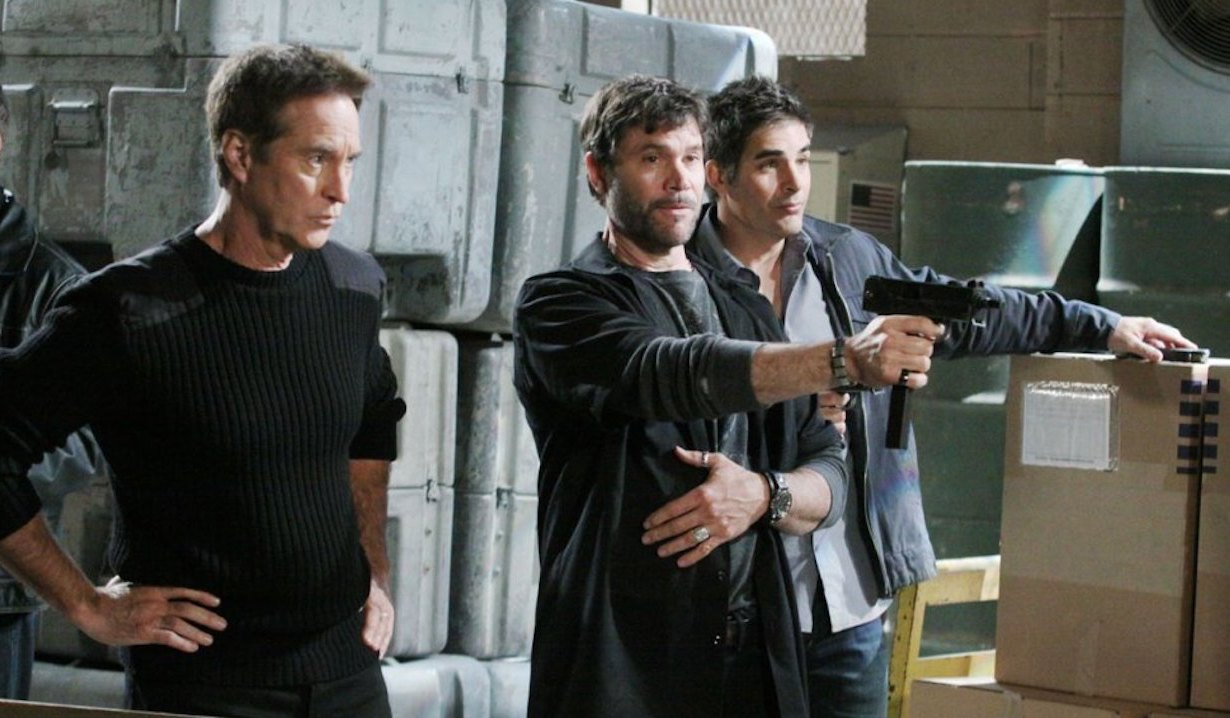 Rafe Hernandez teams up with Bo Brady and John Black on Days of our Lives