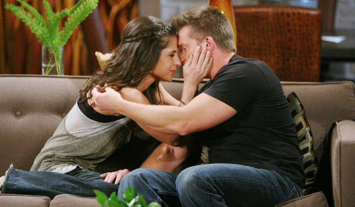 Sam McCall and Jason Morgan in love on General Hospital