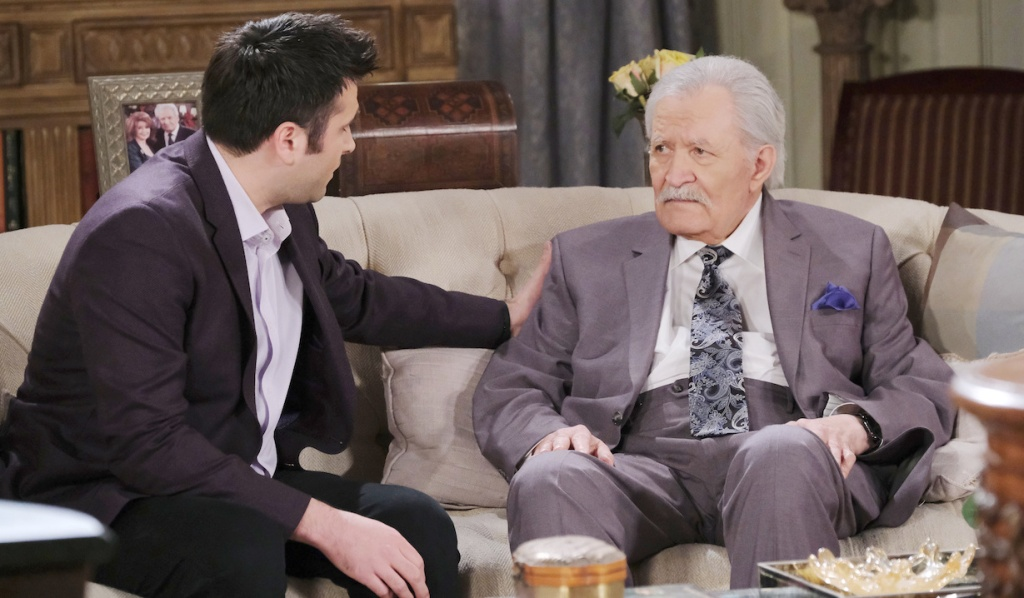Sonny says goodbye to Victor on Days of our Lives