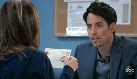 Nikolas finds a letter to Spencer from Ryan GH