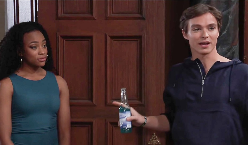 Spencer wants to cause trouble GH