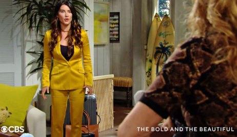 Steffy sees Sheila with Hayes B&B