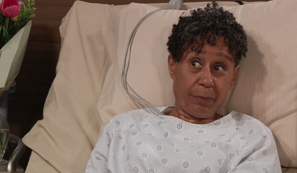 Stella wonders about complications GH