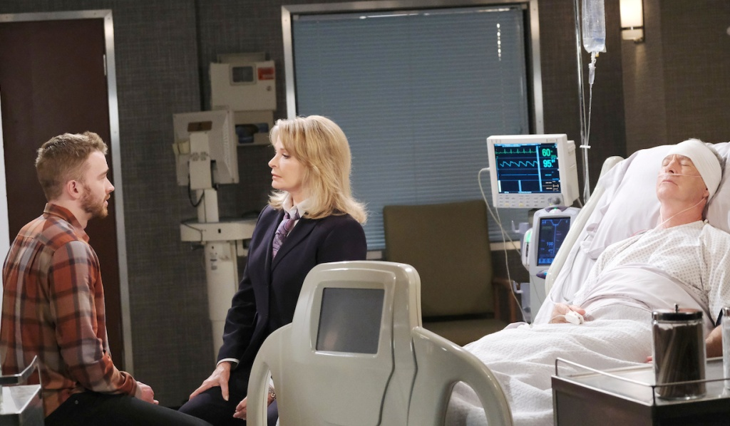Will offers to stay in Salem for Marlena on Days of our Lives