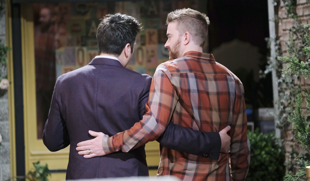 Will Horton and Sonny Kiriakis leave Salem on Days of our Lives