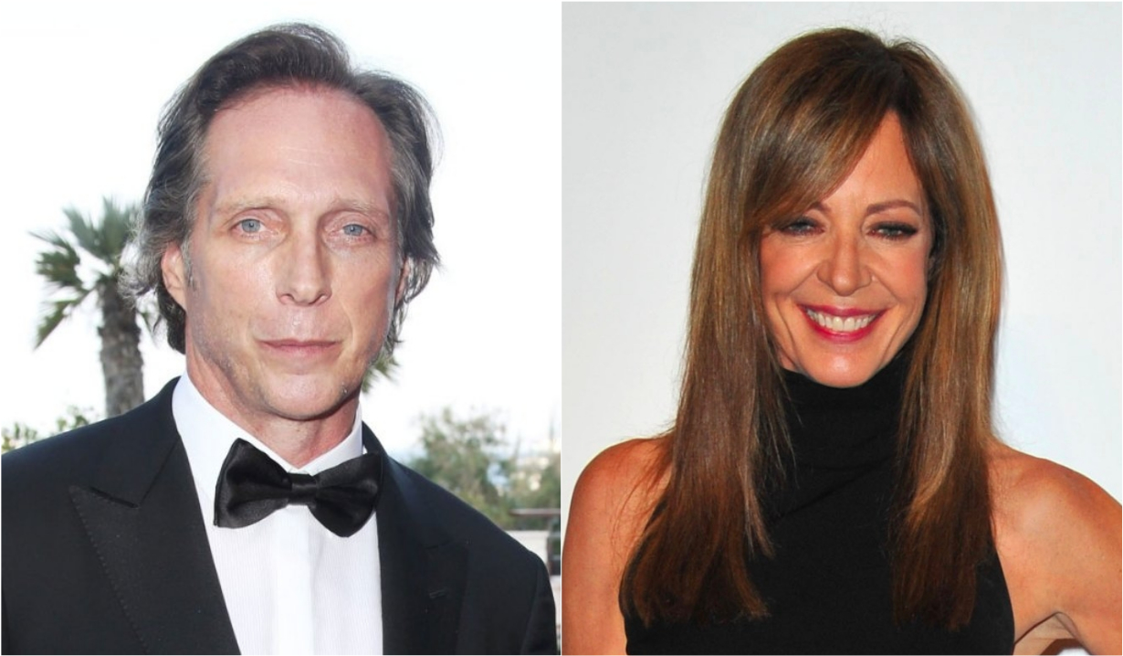 William Fichtner and Allison Janney in Mom