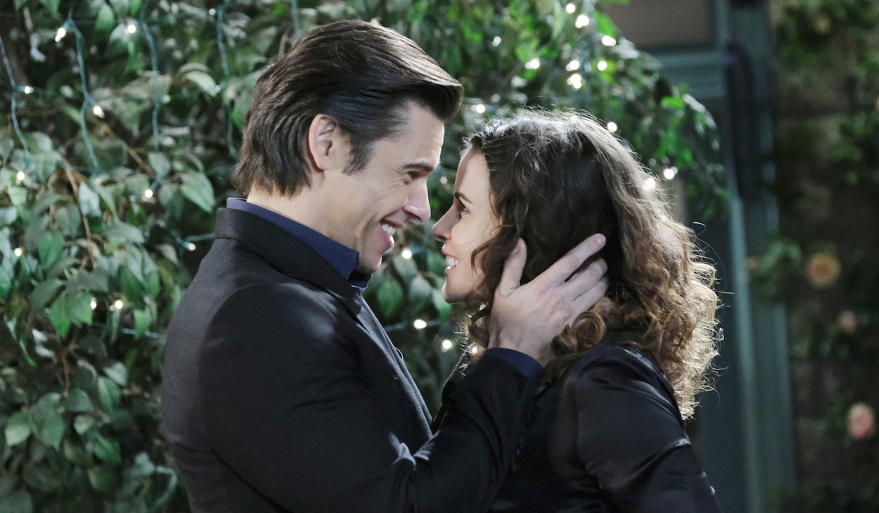 Xander Kiriakis and Sarah Horton reconnect on Days of our Lives