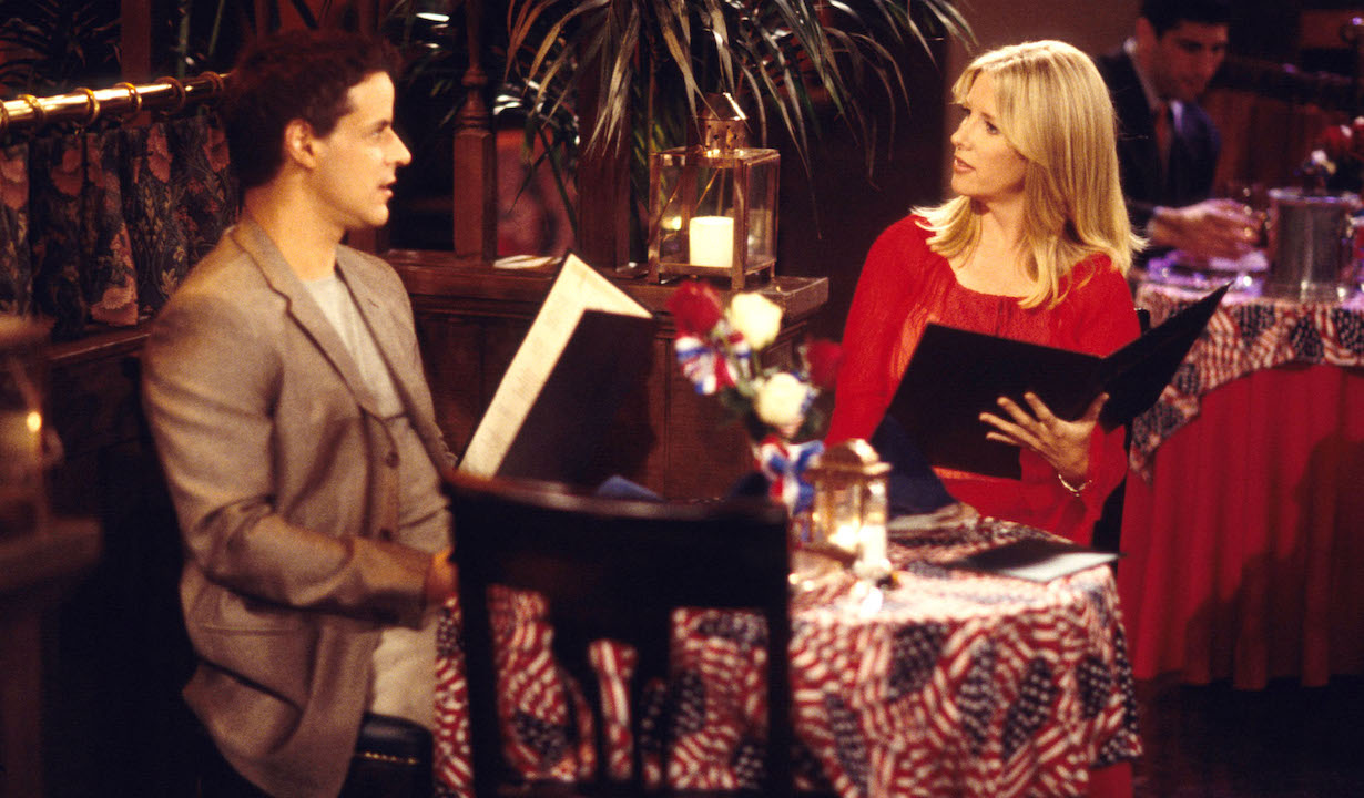 Lauralee Bell and Christian LeBlancYoung and Restless setCBS Television City6/3/02© Jesse Grant/JPI310-657-9661Episode #7417