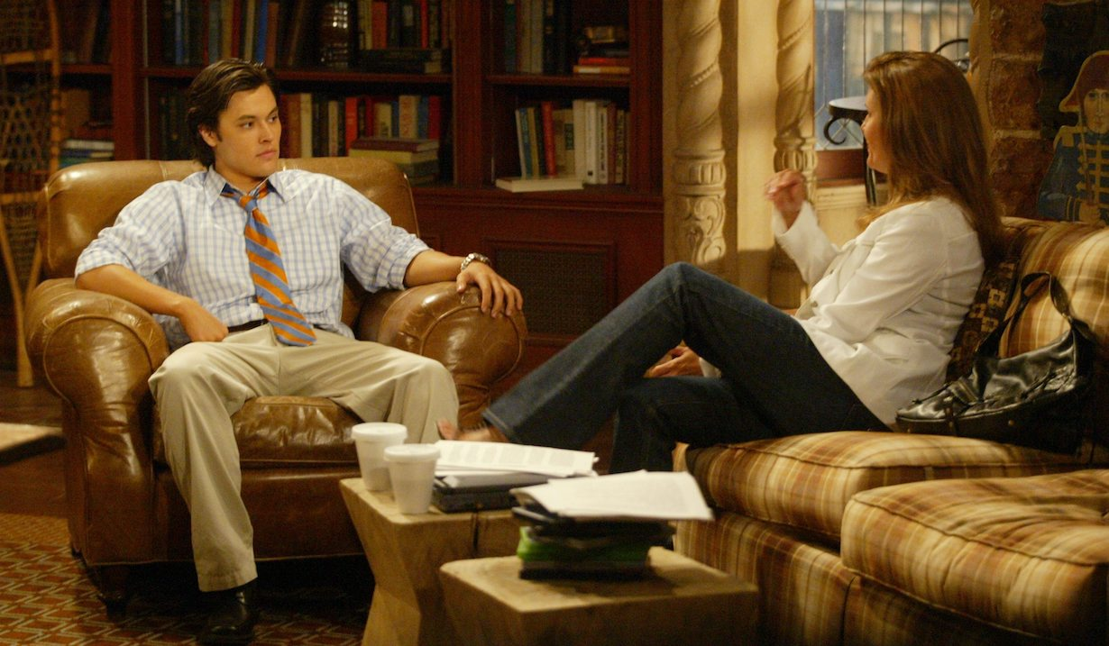 """sheila scotty Kimberlin Brown, Blair Redford""""The Young and the Restless"""" SetCBS Television City7/21//05©Aaron Montgomery/jpistudios.com310-657-9661Episode # 8202"""