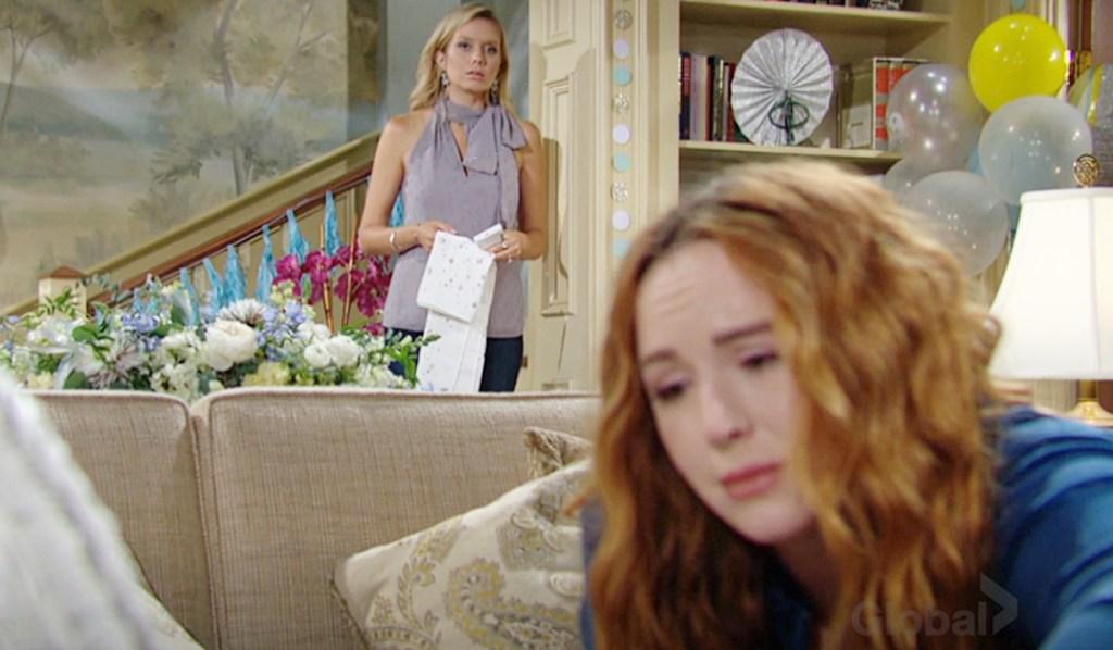 Abby watch Mariah baby Y&R