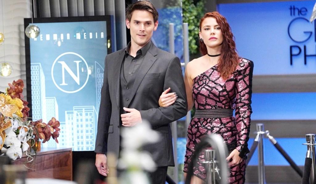 Adam, Sally arrive launch Y&R