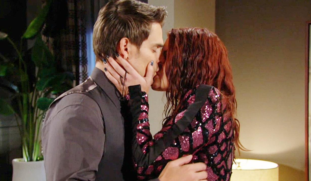 Adam, Sally kiss Y&R