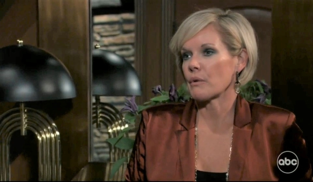 Ava asks Carly to take Avery at Corinthos compound General Hospital