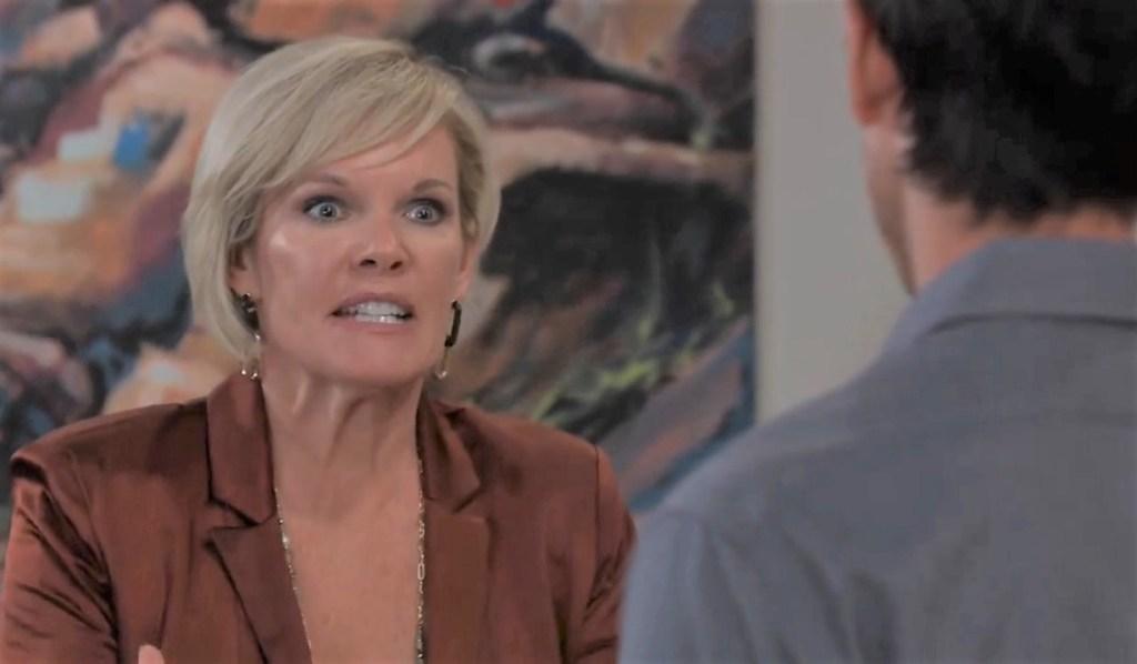 Ava gets a a restraining order against Nikolas at gallery General Hospital