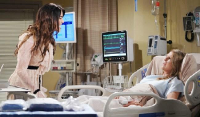 bold beautiful steffy sheila hospital HW