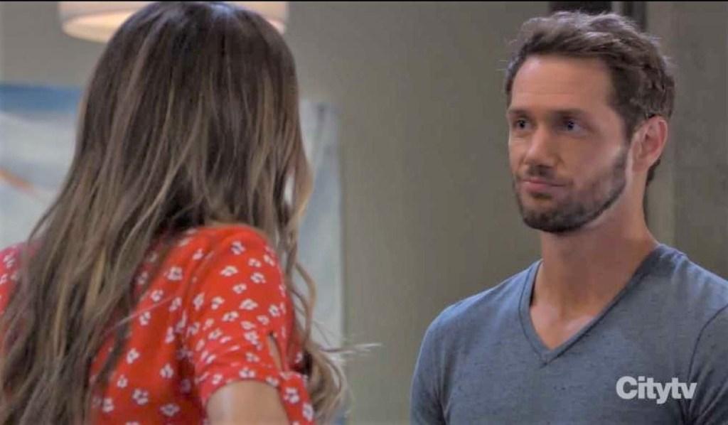 Brando tells Sasha about jis gigs by pool General Hospital