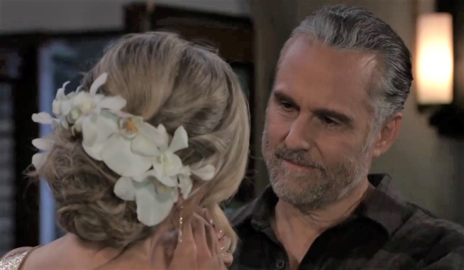 Carly has questions for Sonny in their room General Hospital