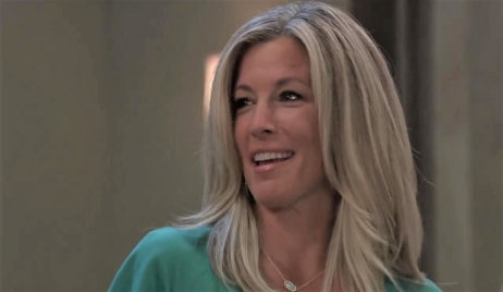 Carly gets surprise party at pool General Hospital