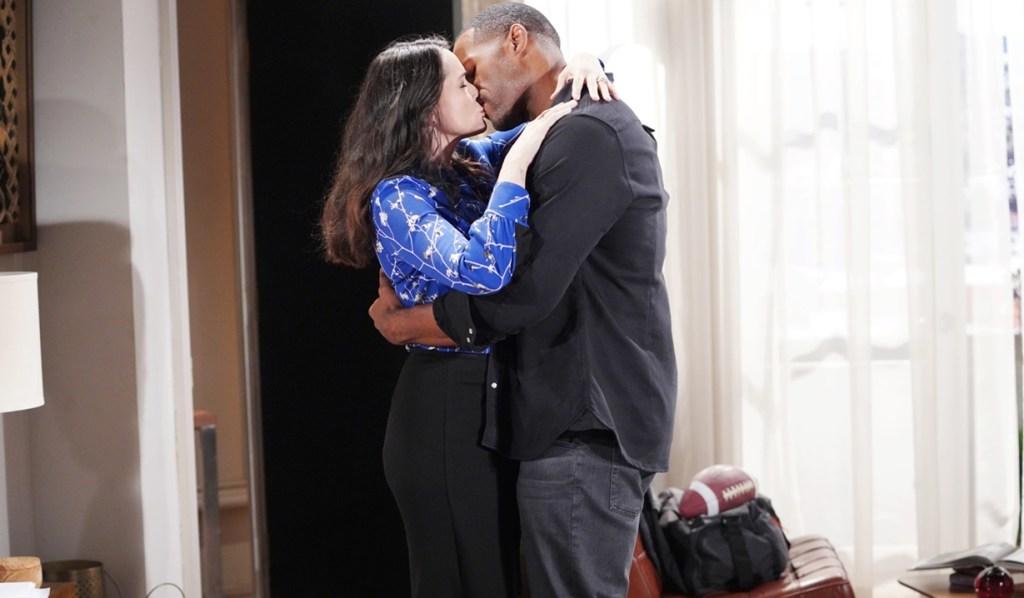 Quinn, Carter kiss B&B
