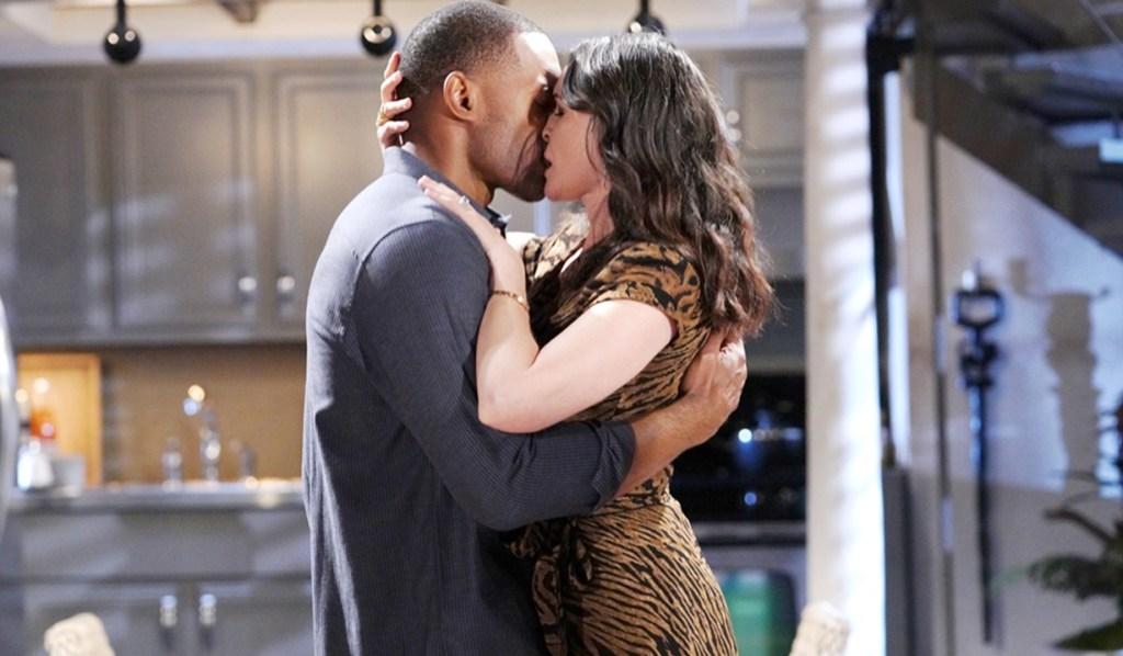 Carter, Quinn kiss passion B&B