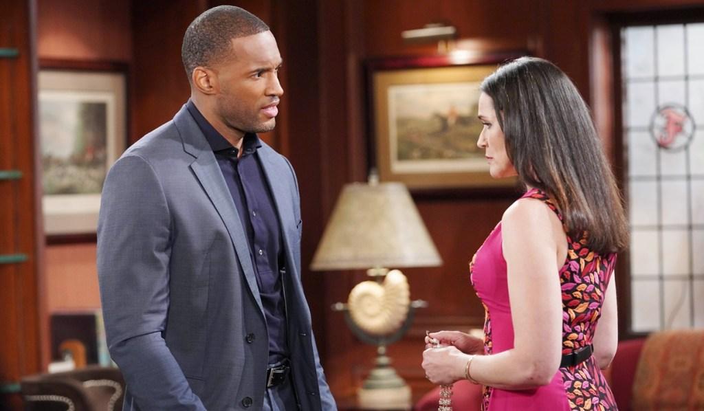 Carter questions Quinn B&B
