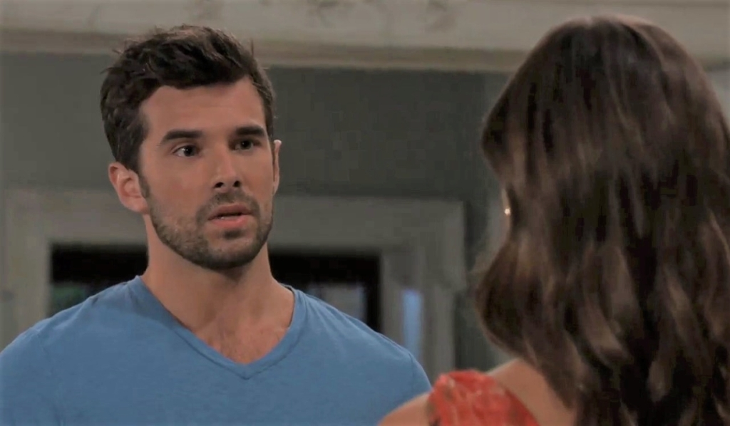 Chase has a confession for Willow at Quartermaine house General Hospital