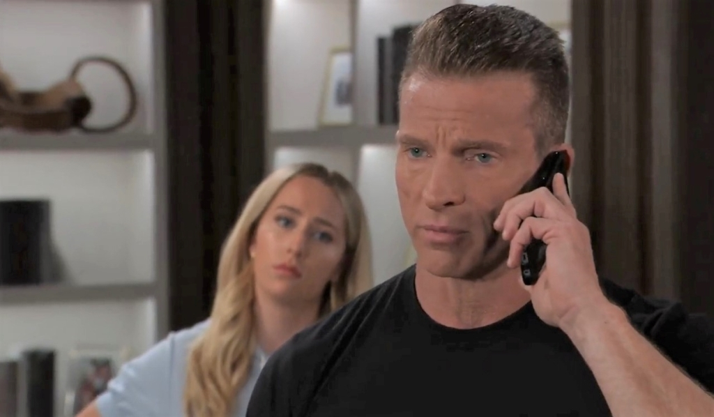 Jason calls Spinelli for a favor at Corinthos compound General Hospital