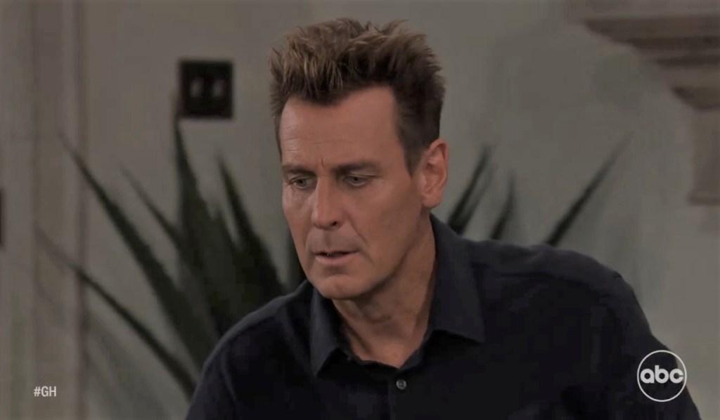 Jax tells Joss his concerns at home General Hospital