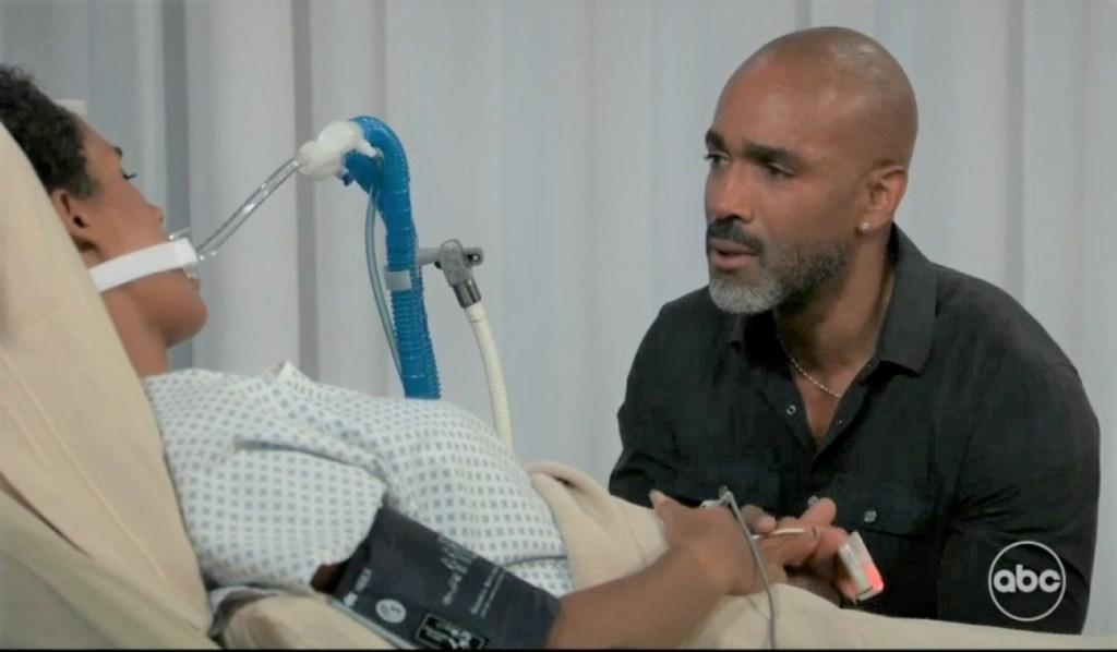 Jordan wakes up with Curtis at General Hospital