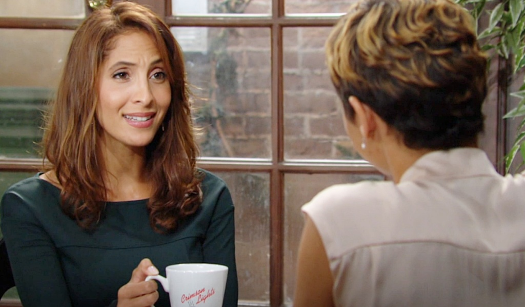 Lily, Elena talk Y&R