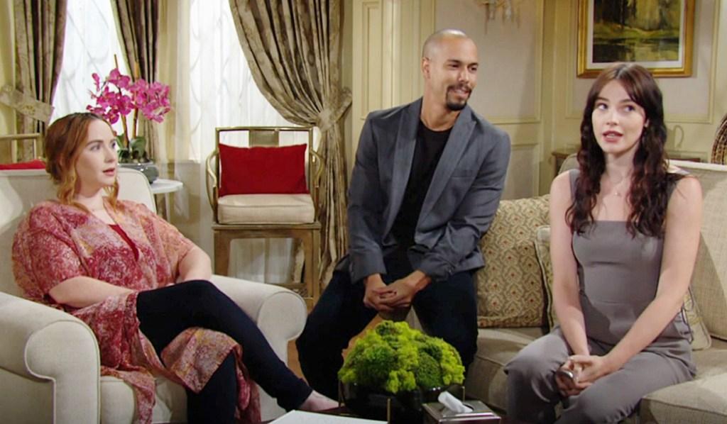 Mariah, Devon, Tessa gather Y&R
