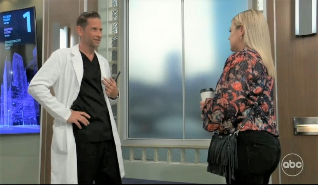 Maxie asks Austin to the wedding at General Hospital