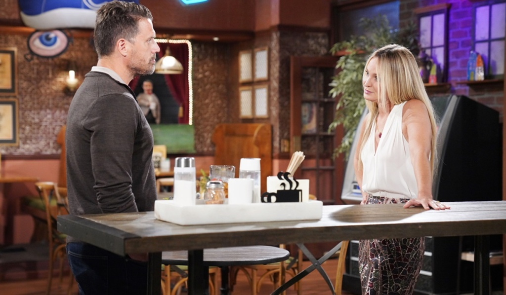 Nick, Sharon heart-to-heart Y&R