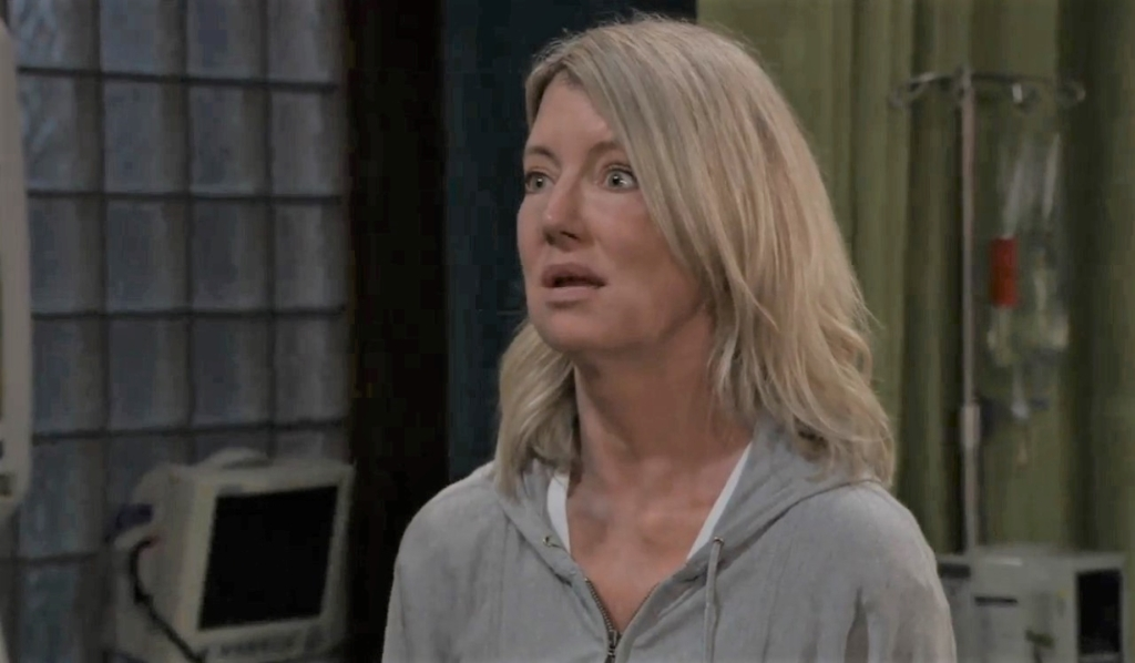 Nina asks Jax if it's over at clinic General Hospital