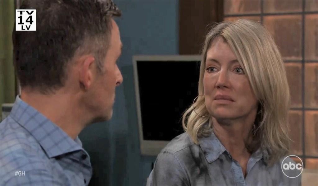 Nina tells Valentin she was blackmailed at clinic General Hospital