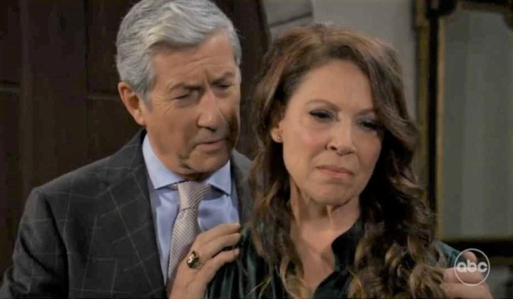 Obrecht threatens Victor on island General Hospital