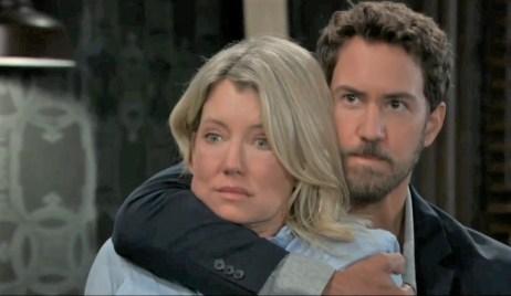 Peter grabs Nina at Tan-O General Hospital