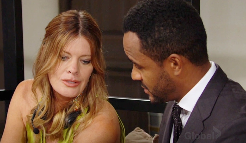 Phyllis, Nate questions Y&R