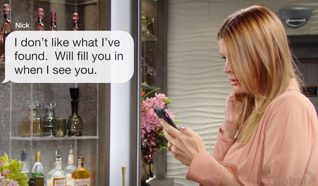 Phyllis, Nick text YR