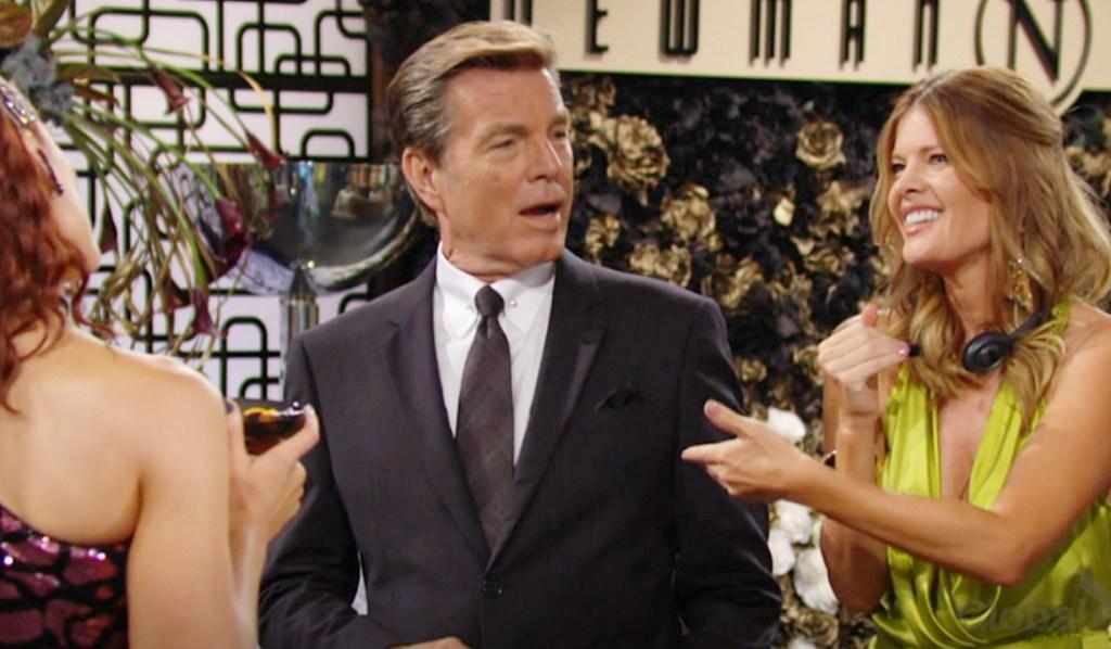 Phyllis insult Sally, Adam, Jack Y&R