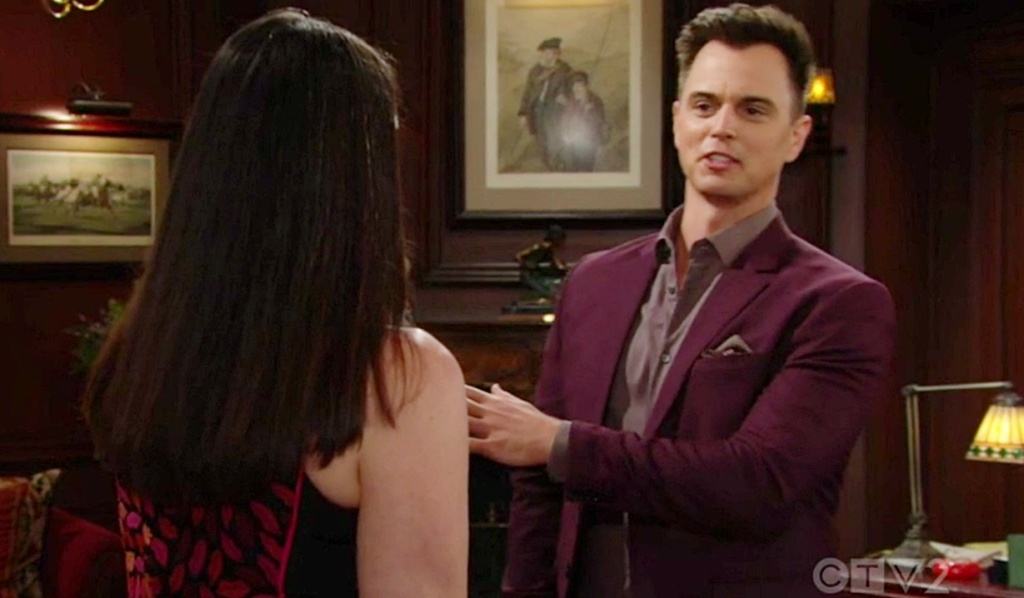 Quinn, Wyatt tease B&B