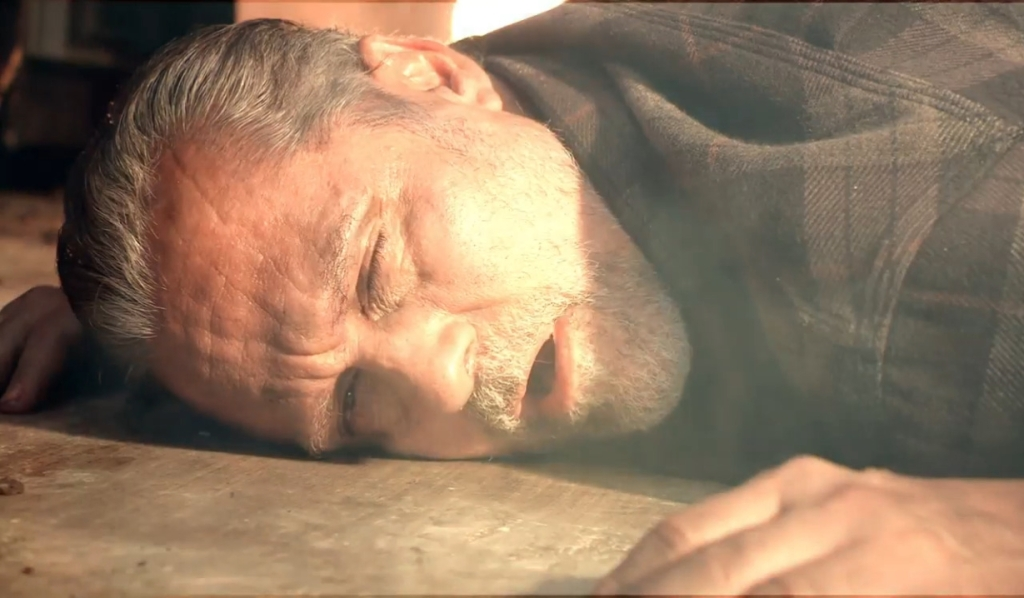 Sonny wakes up in burning Tan-O General Hospital