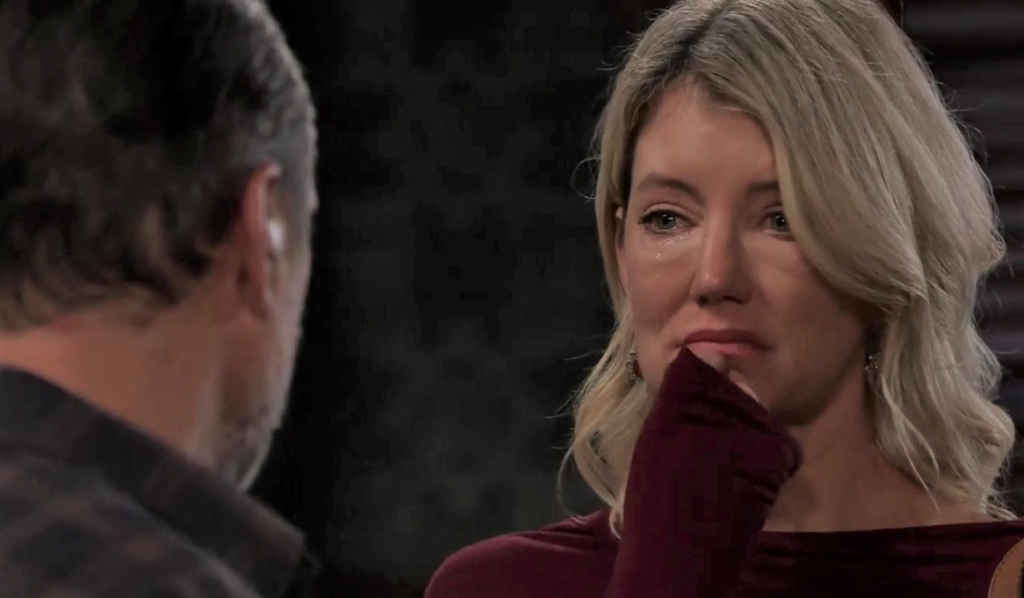 """Mike"" and Nina discuss the future at Tan-O General Hospital"