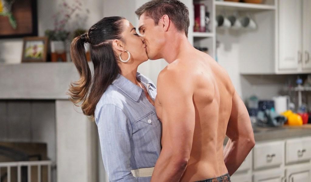Steffy, Finn kiss B&B