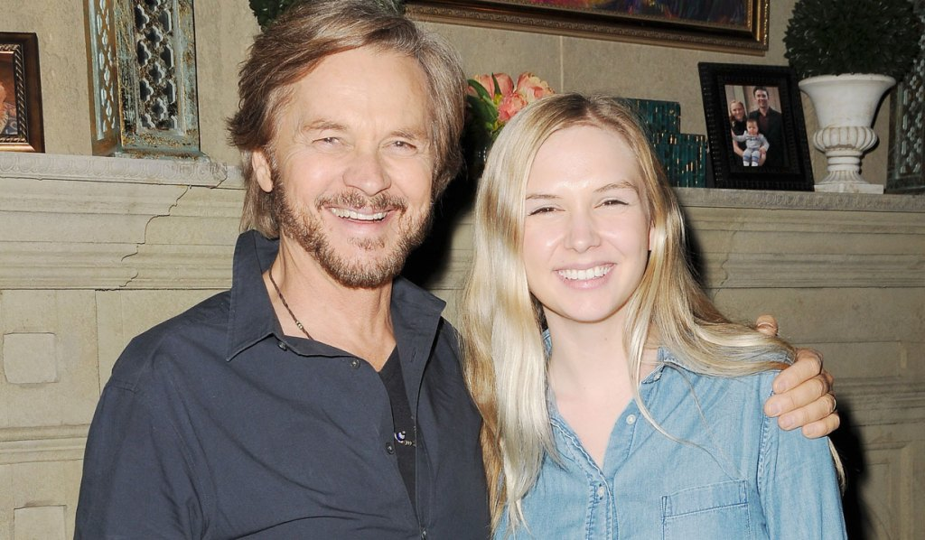 Stephen Nichols and daughter dylan days
