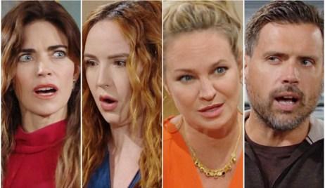 Victoria, Mariah, Sharon, Nick Y&R
