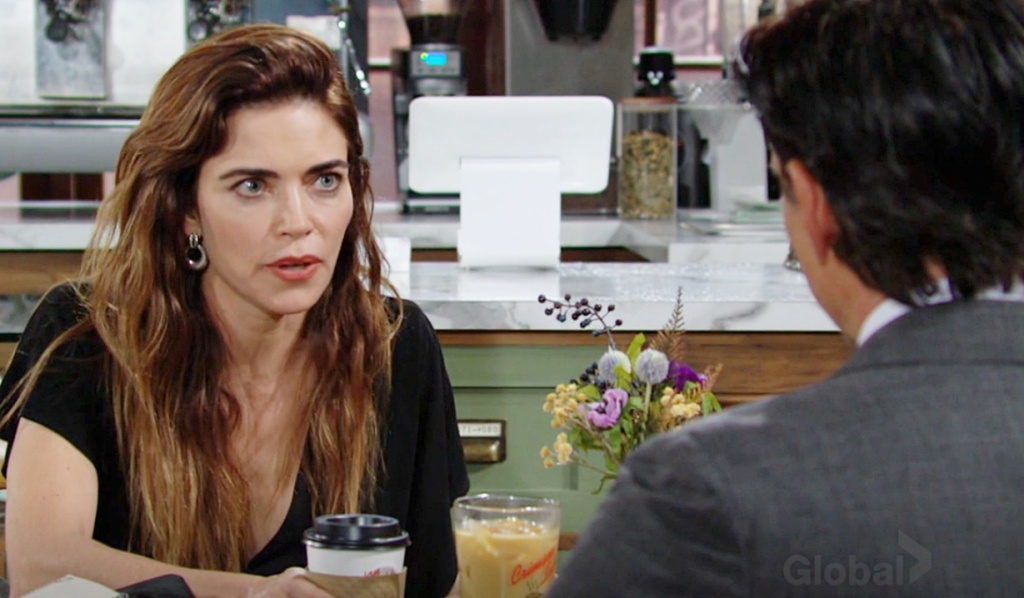 Victoria testy with Billy Y&R