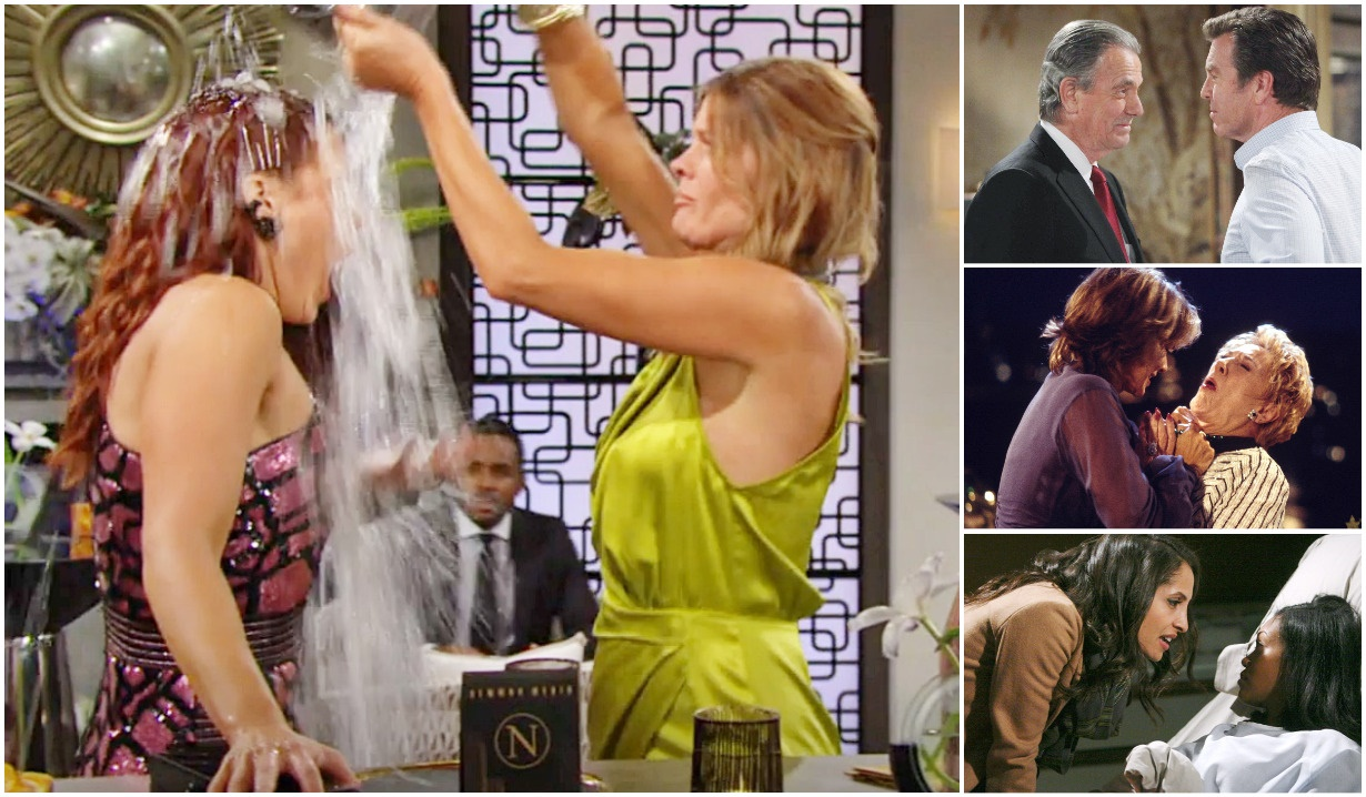 Young Restless rivalries collage Y&R