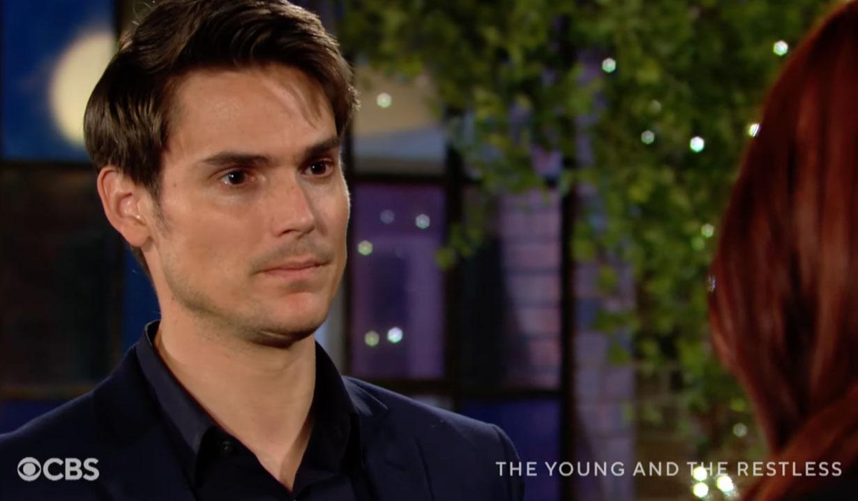 Adam pulls Sally into kiss CBS YR