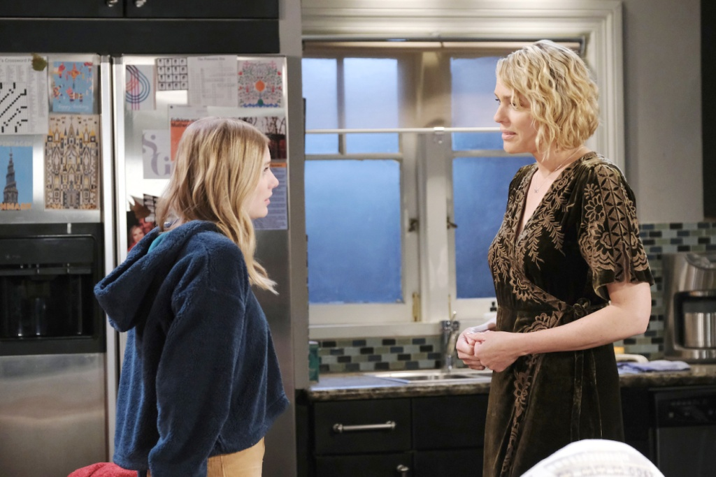 Allie confides in Nicole on Days of our Lives